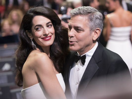 11alive.com | George and Amal Clooney welcome twins
