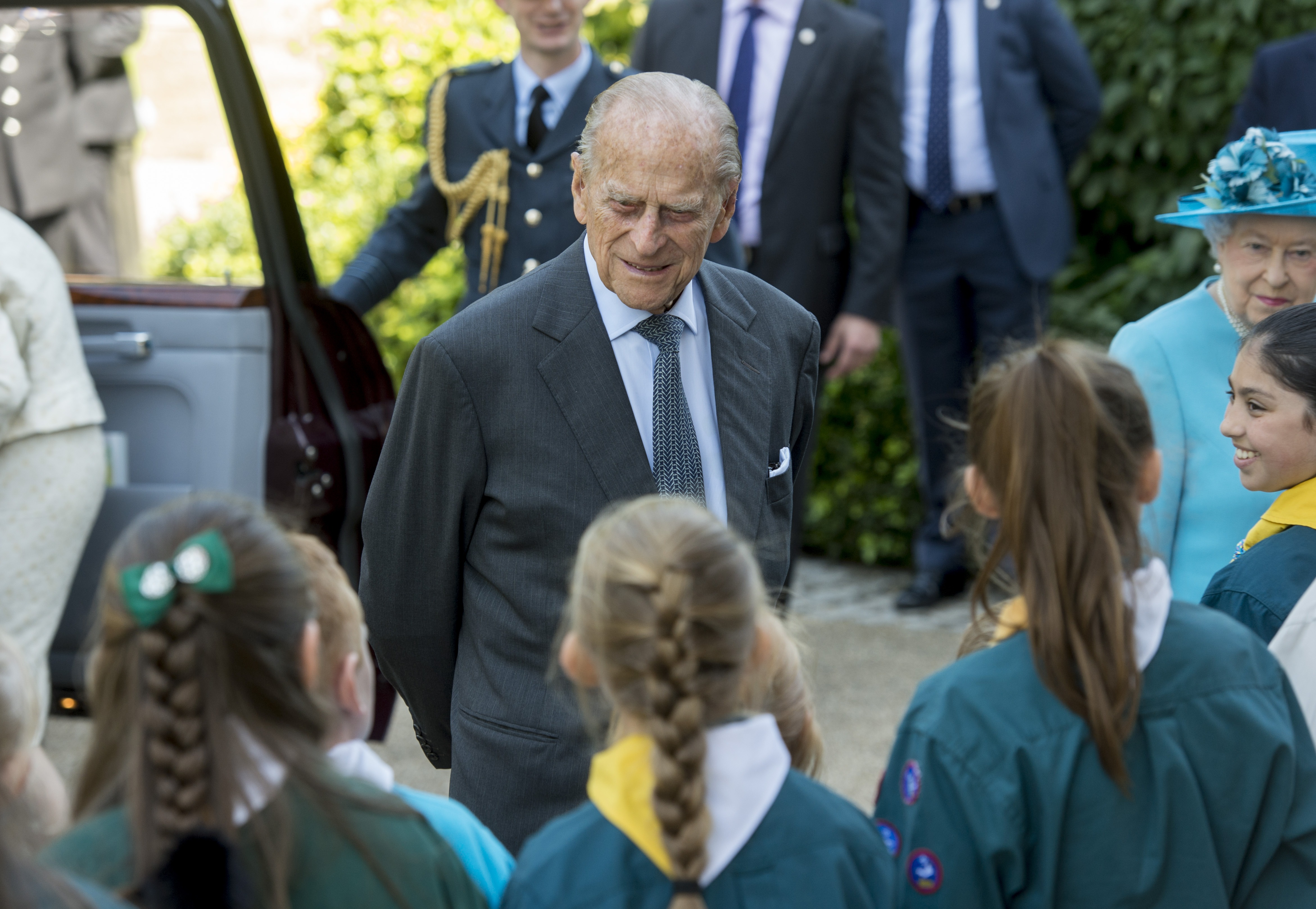 Queen's elderly husband Prince Philip in London hospital | THV11.com
