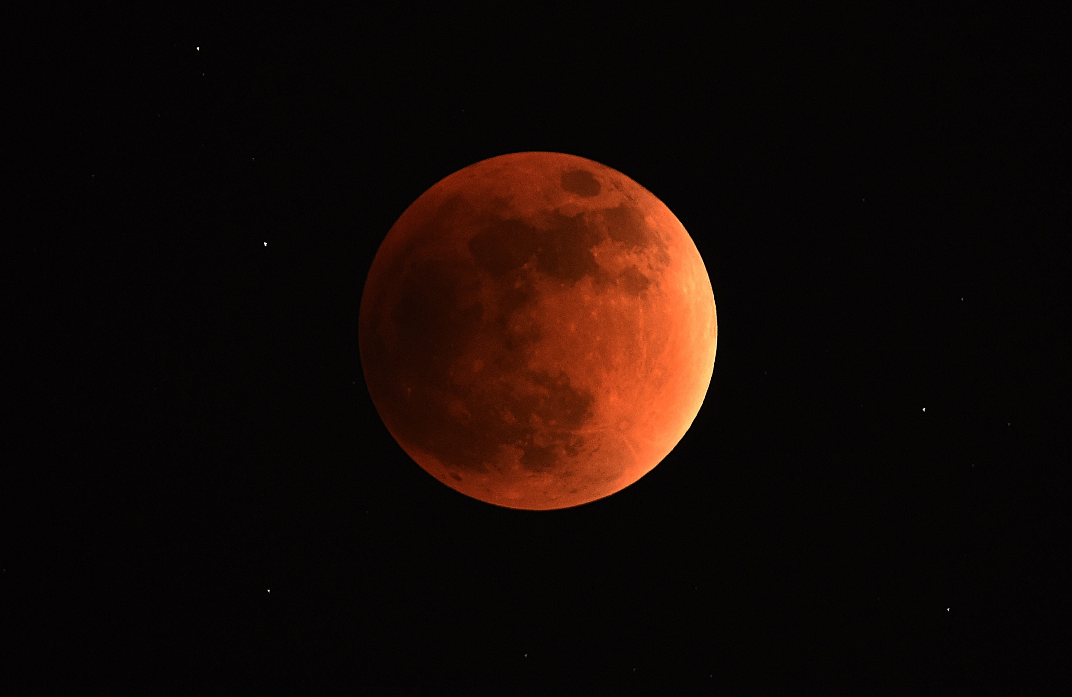 Triple treat: Supermoon, blue moon and lunar eclipse coming next week