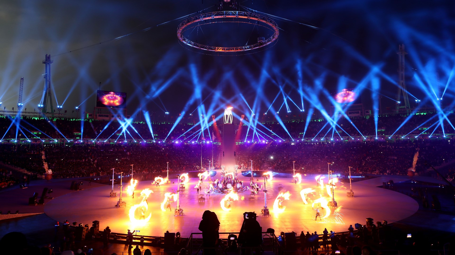 Image result for 2018 pyeongchang winter olympics opening ceremony