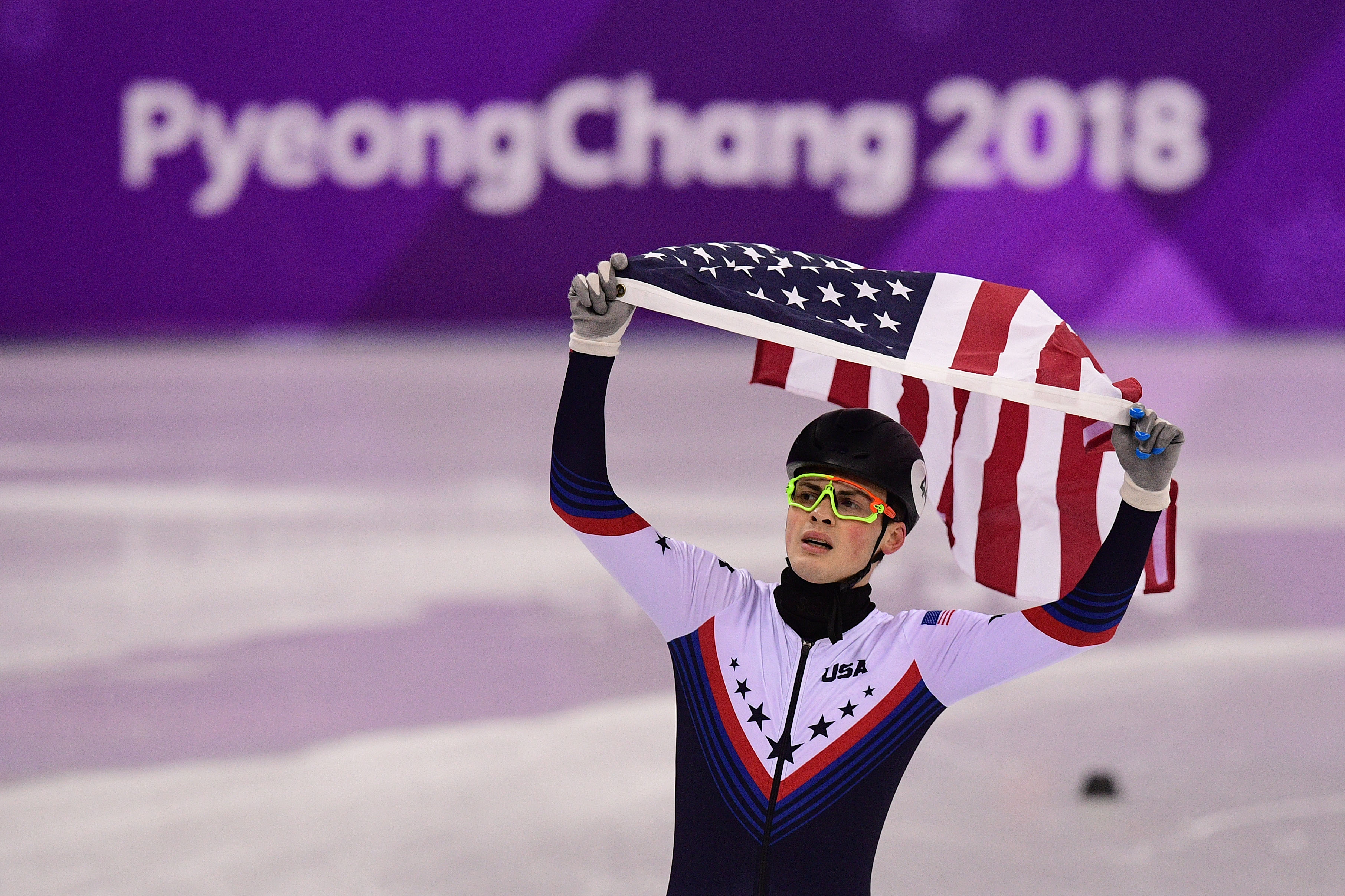 USA medalist John-Henry Krueger's big night through his parents' eyes at the 2018 Winter Olympics